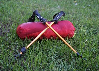 Stuffed tent- just add trekking poles