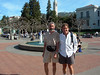 First stop: Sproul Plaza