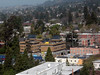 """Our old Co-op house, Ridge Project (now <a href=""""http://www.usca.org/coops/caz.php"""">Casa Zimbabwe</a>) from the top of the Campanile."""