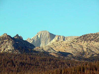 Beautiful Mt Conness from Tuolumne Meadows