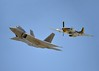 F-22 and P-52 Mustang (1)