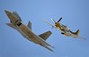 F-22 and P-52 Mustang (2)
