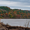 Fisherman and Fall Colors on the Missouri River  DWA_5041