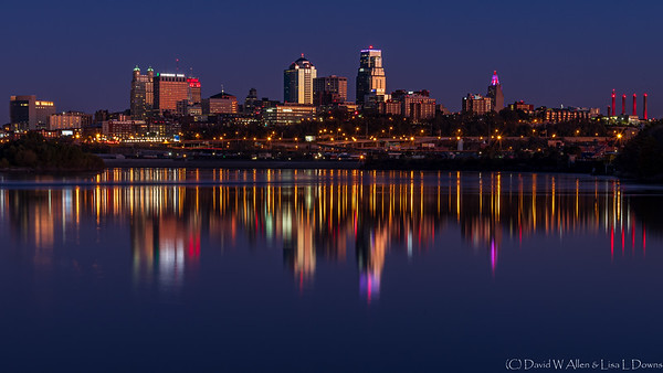 Kansas City from Kaw Point _D851923