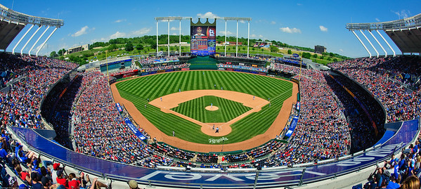 Kauffman Stadium, Royals vs Cardinals 2012