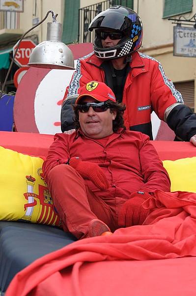 Alonso se duerme