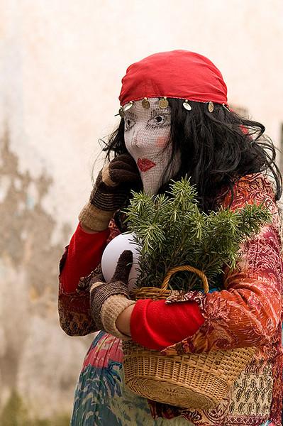 """<span style=""""color:#FBEC5D"""">Te leo el futuro</span></em> Segundo Premio en el Concurso Fotográfico Carnaval de Alhama de Granada 2011"""