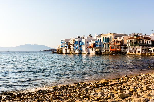 Little Venice, Mykonos Town