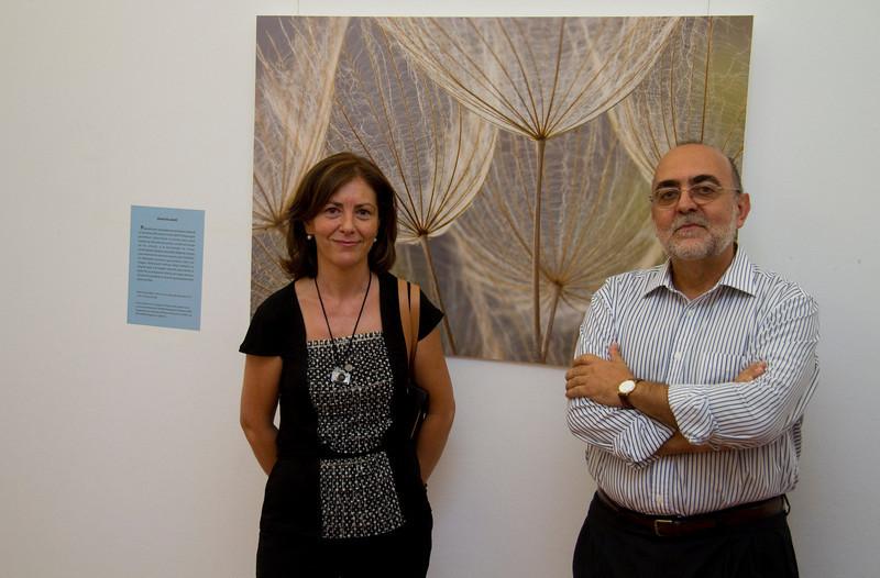 Jaime Rodríguez (Vocal de Ciencia y relaciones con la Universidad) y Ana Retamero