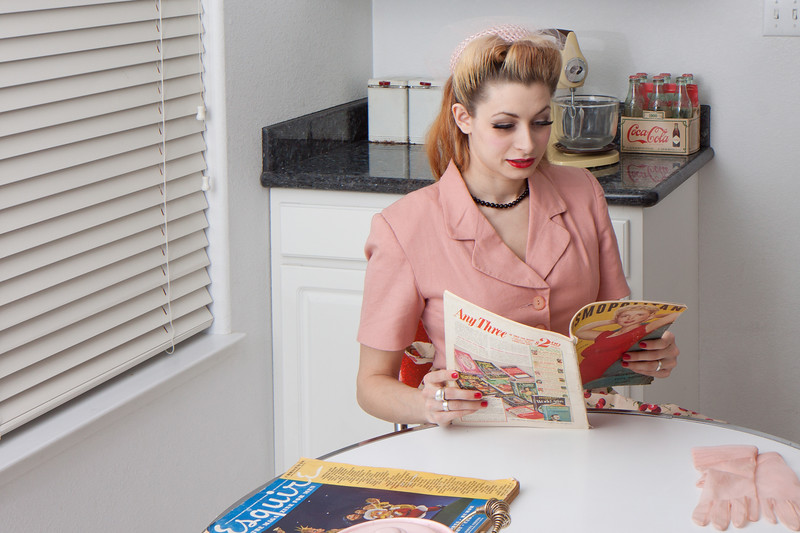Luci In the Kitchen, by Bootleg Photo, Reno, NV.