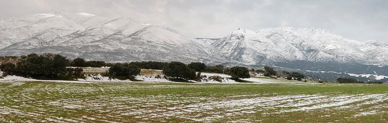 Panorámica de Sierra Tejeda (desde Los Llanos)