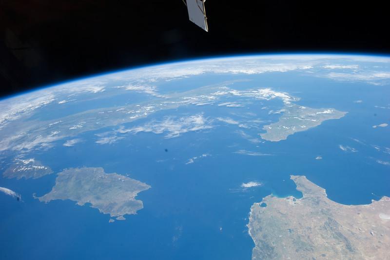 Tyrrhenian Sea, Corsica, Sardinia, Sicily