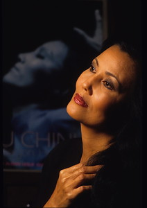 Actress Kieu Chinh.  Photo by Bruce Strong/ The Orange County Register.  Taken 9/27/1993