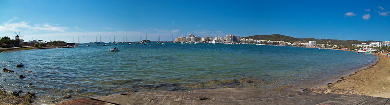 San Antonio Bay Panorama