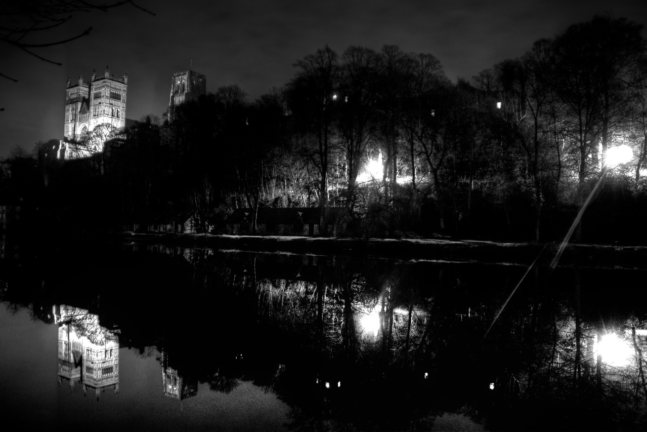 Durham Cathedral Reflections at night