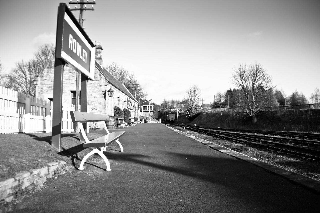 Train Station, Beamish