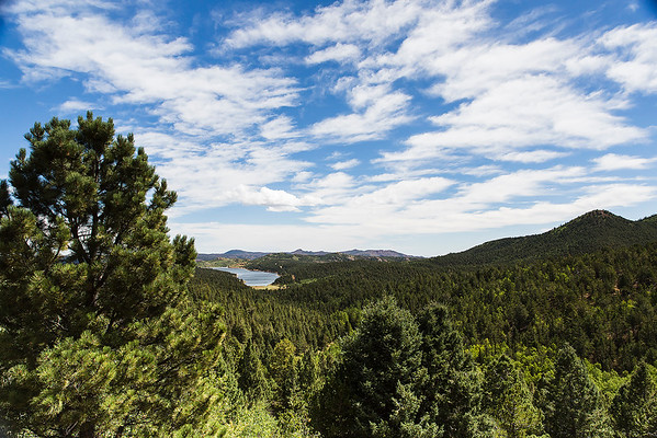 Colorado -  On the up to Pikes Peak