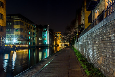 Regent's Canal at night