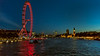London by Night - view from the Golden Jubilee Bridge