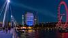 London by Night - On Jubilee Bridge