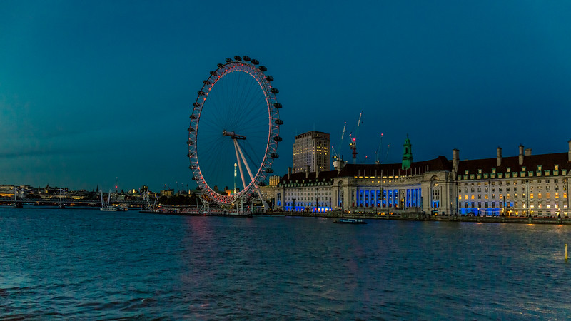 View from Westminster Bridge