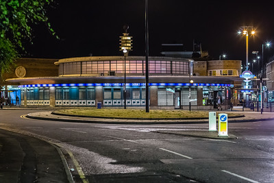 Southgate Station on the Piccadilly Line