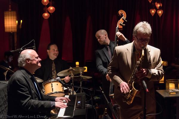 Tim Whitmer Quartet at Green Lady Lounge, January 2018   DWA_0468