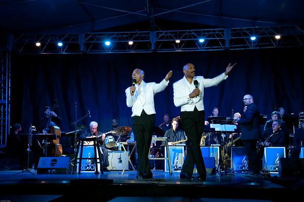 The McFadden Brothers at the 2015 Prairrie Village Jazz Festival