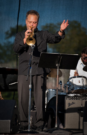 Stan Kessler at 2015 Prairrie Village Jazz Festival