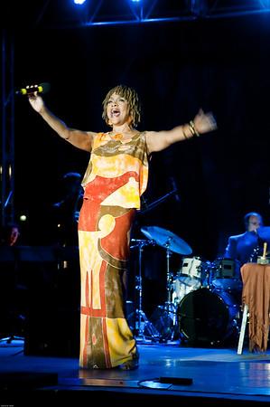 Angela Hagenbach at the 2015 Prairrie Village Jazz Festival