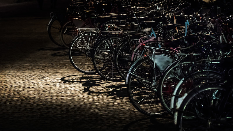 Spotlight on bicycles