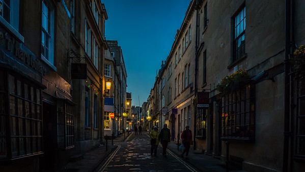 Twilight in Bath