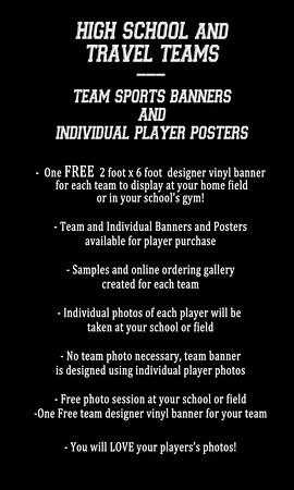 HS Rec banner poster