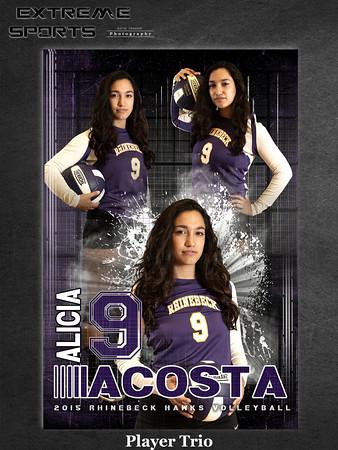 Volleyball trio sample