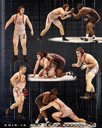 Darren Wrestling trio 16x20b rev