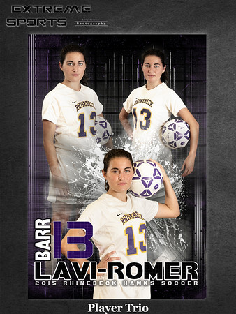 Girls soccer trio sample
