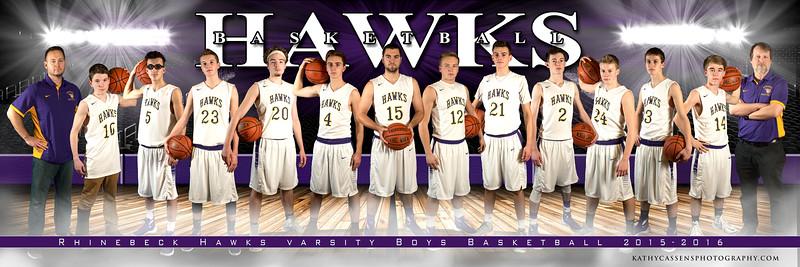 Full Court Rhinebeck Boys Basketball 5x15