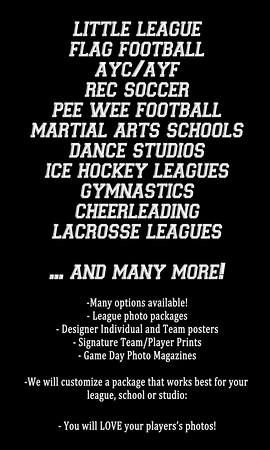 HS Rec banner poster leagues