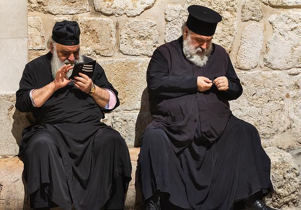 Some people shots in Old Jerusalem