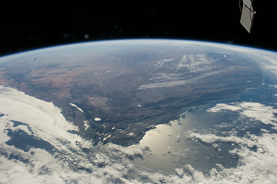 Reid Wiseman: Capetown and almost all of South Africa.  Beautiful!