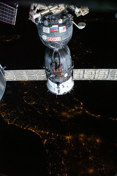 Reid Wiseman ‏@astro_reid  May 31 Sleep tight in northern Italy!