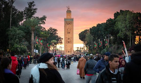 Koutoubia Mosque - Marrakesh, Morocco