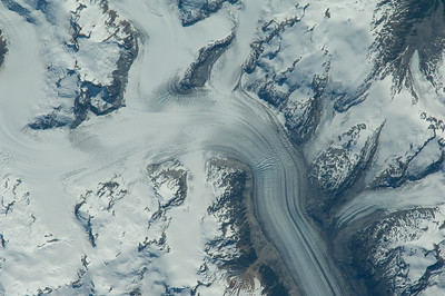 Caption by Space Station Academy student: north of Little Fort, British Columbia in western Canada