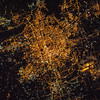 World's most populous capital city at 21 million. It's no longer Forbidden to enter the center of this City. ISS over China. (ANSWER: Beijing, China)