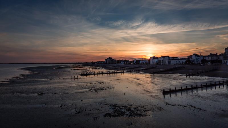 South coast sunset