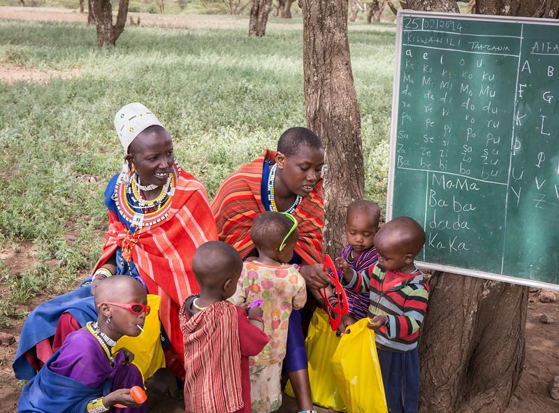 Ngorongoro Area, Tanzania: Maasai Village