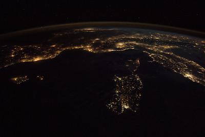 Sardinia, Corsica, Balearic Islands (left)