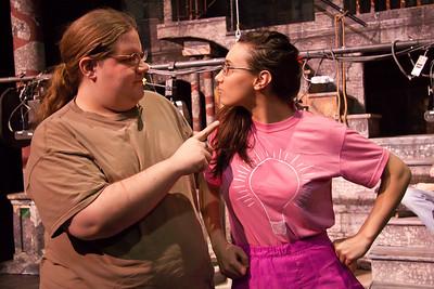 Drew Dunlap, Gina Leonaggeo in Everyman