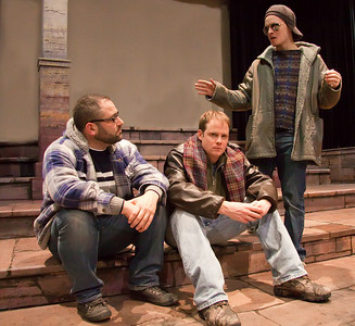 Stephen Balantzian, Jim Nurre and Josh Patriarco of  the Up In One Production, RENT