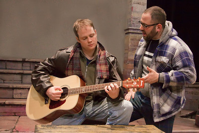 Jim Nurre (Roger) and Stephen Balantzian (Mark) of the Up In One Production, RENT
